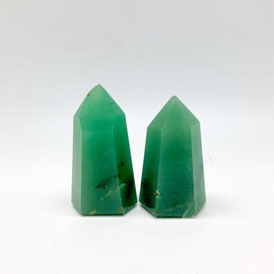 Green Quartz Polished Points