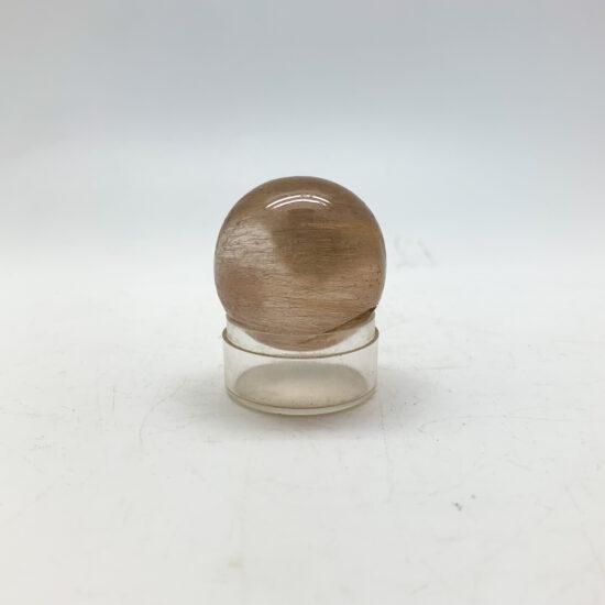 Golden Rutilated Quartz Spheres