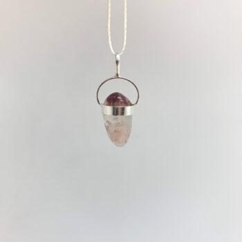 Lithium Quartz Tumbled Pendants