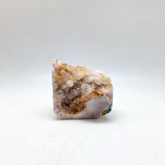 Pink Amethyst Semi-polished