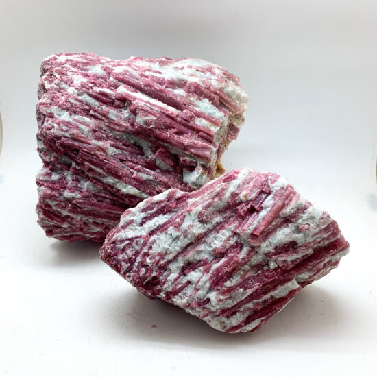 Pink Tourmaline on Matrix - Large