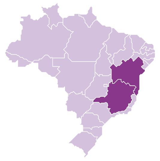 States of Bahia and Minas Gerais