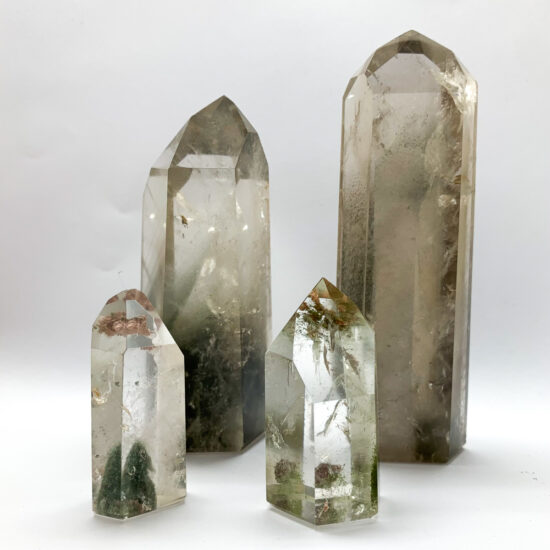Quartz with Inclusions Polished Points