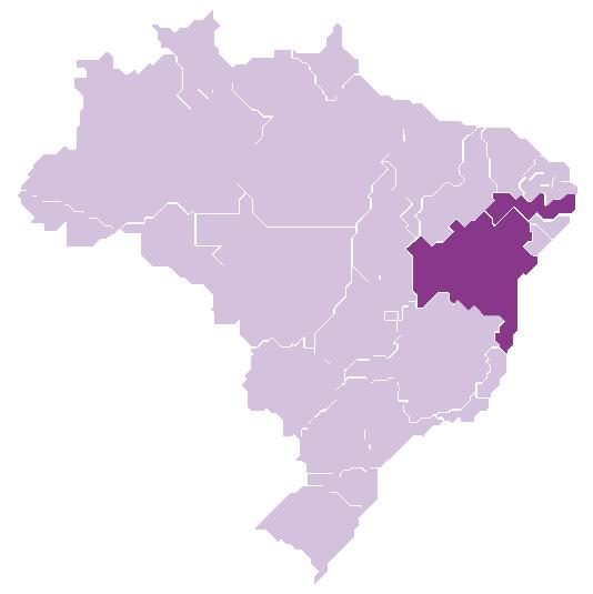 States of Bahia and Pernambuco