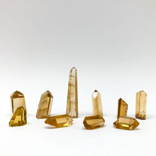 Natural Citrine Polished Points - Gem Grade (mini)