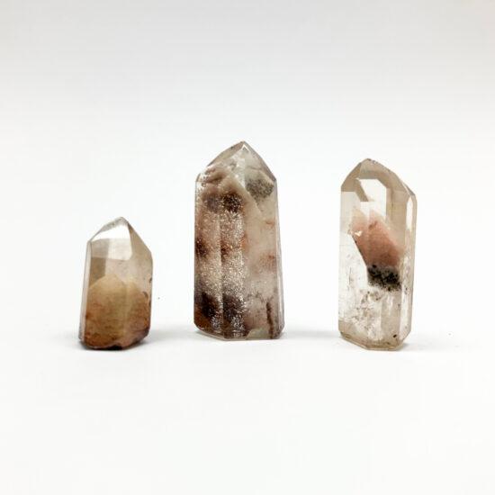 Chlorite Quartz Points - Mini