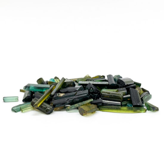 Green Tourmaline Rough