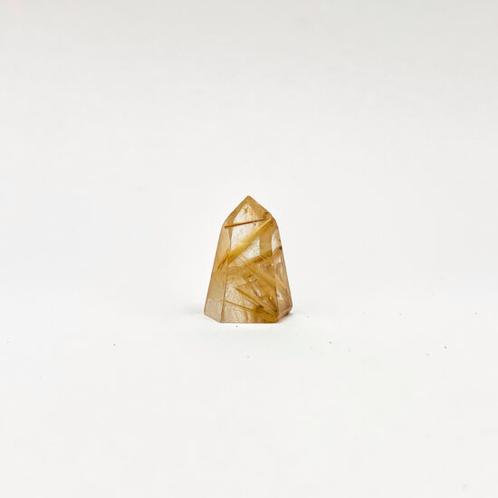 Golden Rutilated Polished Points - Mini