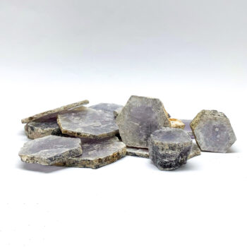 "Lepidolite Rough ""Coins"""