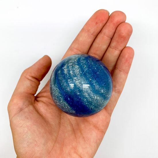 Blue Quartz Spheres