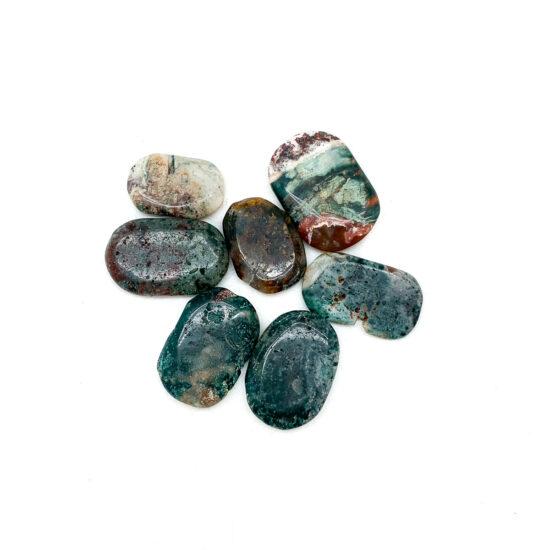 Bahia Jasper Palmstones - Mini