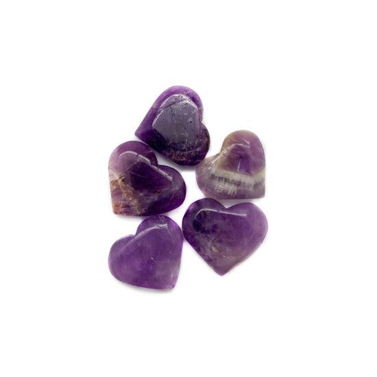 Amethyst Hearts - Mini