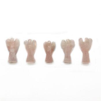 Rose Quartz Angels - Mini