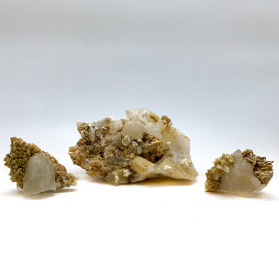 Clear Quartz with Mica Clusters