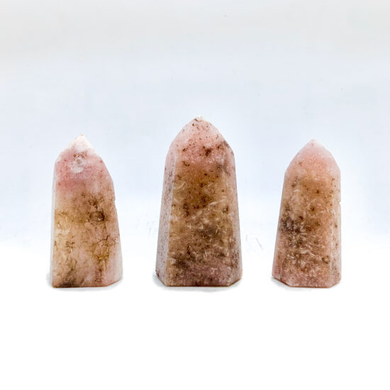 Pink Amethyst Polished Points