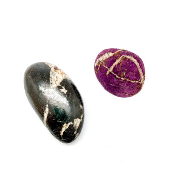 Heterosite-Purpurite Palmstones