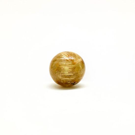 Golden Rutilated Spheres