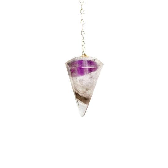 Smoky Amethyst Pendulums