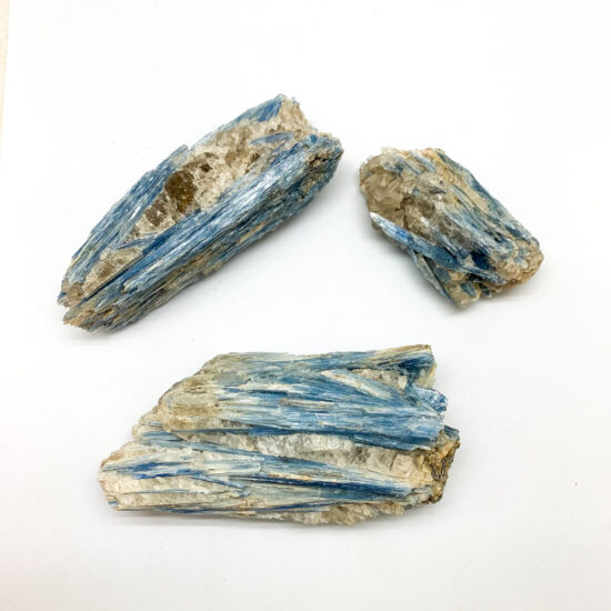 Blue Kyanite Clusters
