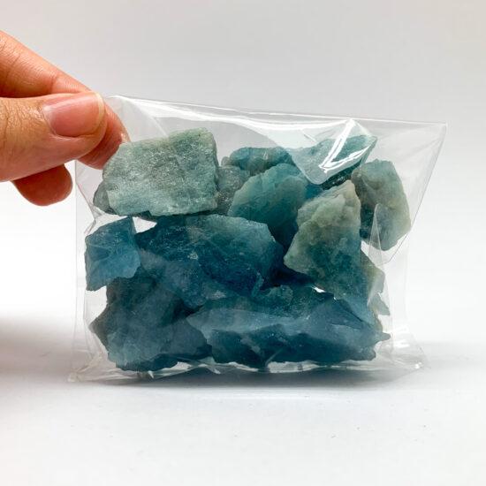 Aquamarine Rough - Bag