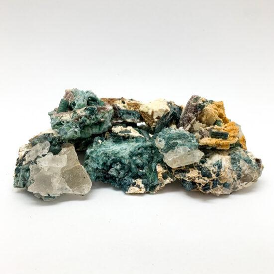 Blue Tourmaline on Matrix - Mini
