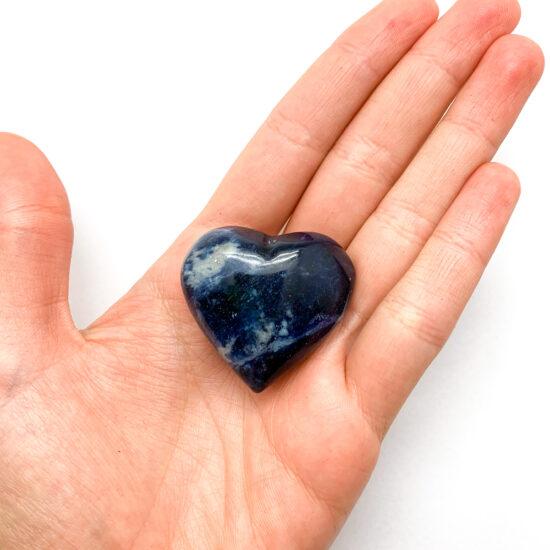 Sodalite Hearts - Small