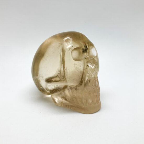 Natural Citrine Skull
