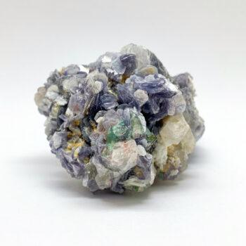 Lepidolite with Quartz and Green Tourmaline