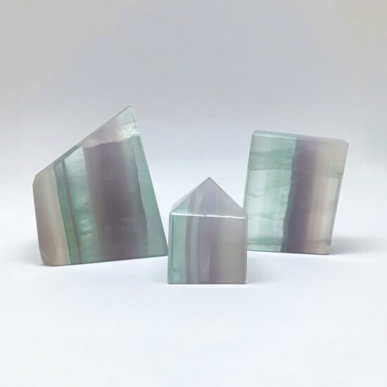 Lavender Fluorite Freeforms
