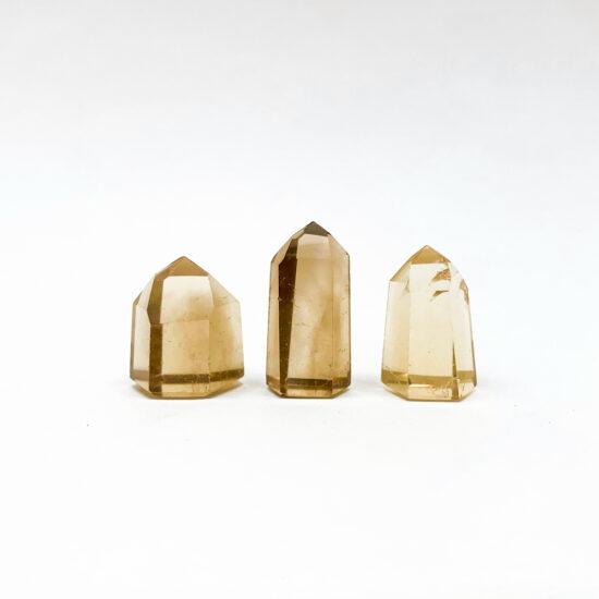 Natural Citrine Polished Points - Mini