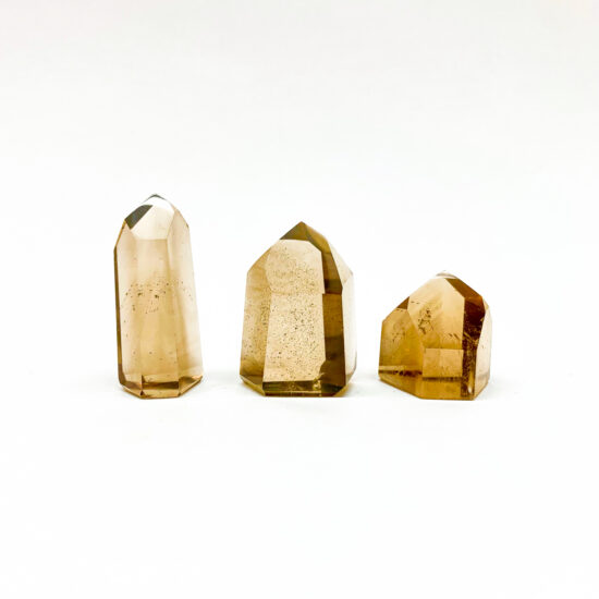 Natural Citrine Polished Points - Small