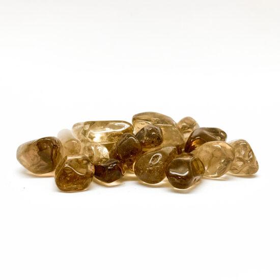 Natural Smoky Citrine Tumbled - Mini (Bag)
