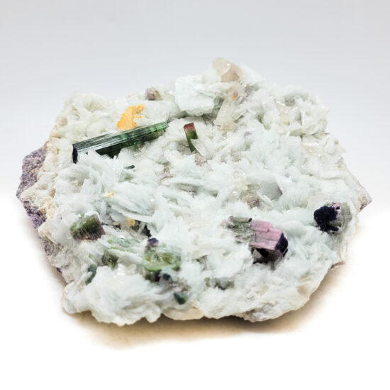 Albite with Tourmaline and Lepidolite - Large #2