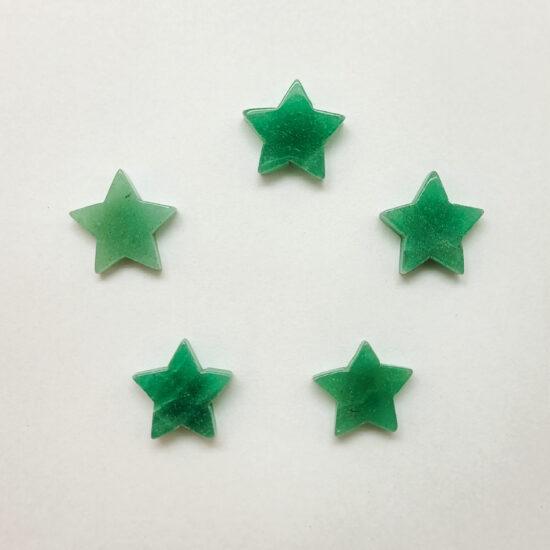 Green Quartz Stars - Mini
