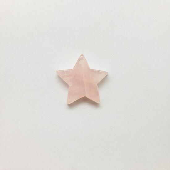 Rose Quartz Stars - Mini
