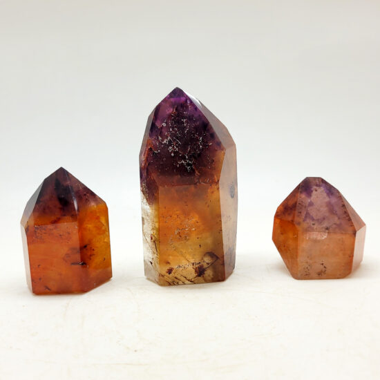 Dreamcoat Lemurian Polished Points - High Grade