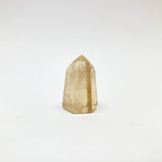 Natural Light Citrine Polished Points - Small