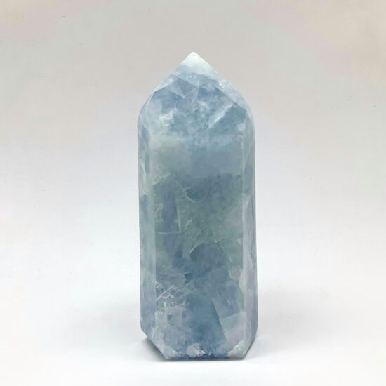 Blue Calcite Polished Points