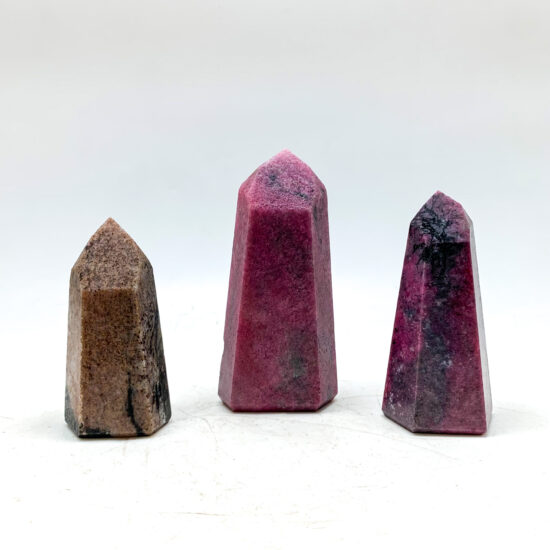 Rhodonite Polished Points